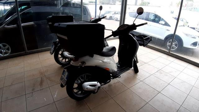 PIAGGIO LIBERTY 125 DELIVERY DOUBLE RACK+BOX